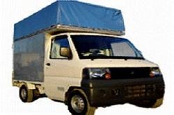 引越しの軽トラック
